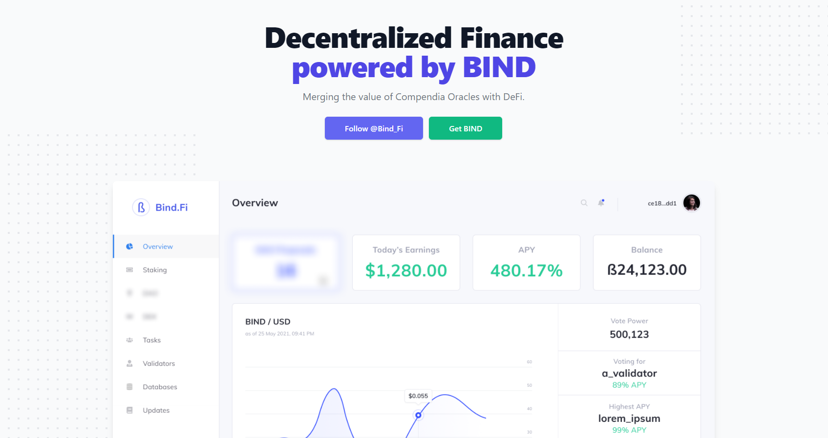Introducing Bind.Fi - Decentralized Finance powered by BIND